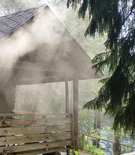 Hotelli Korpilampi Espoo TYHY - ohjelmaa virkistyspäivä kesäjuhla savusauna