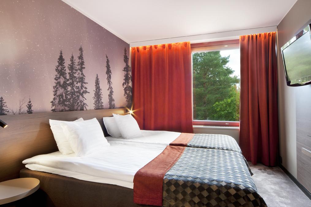 Hotelli Korpilampi hotellihuone