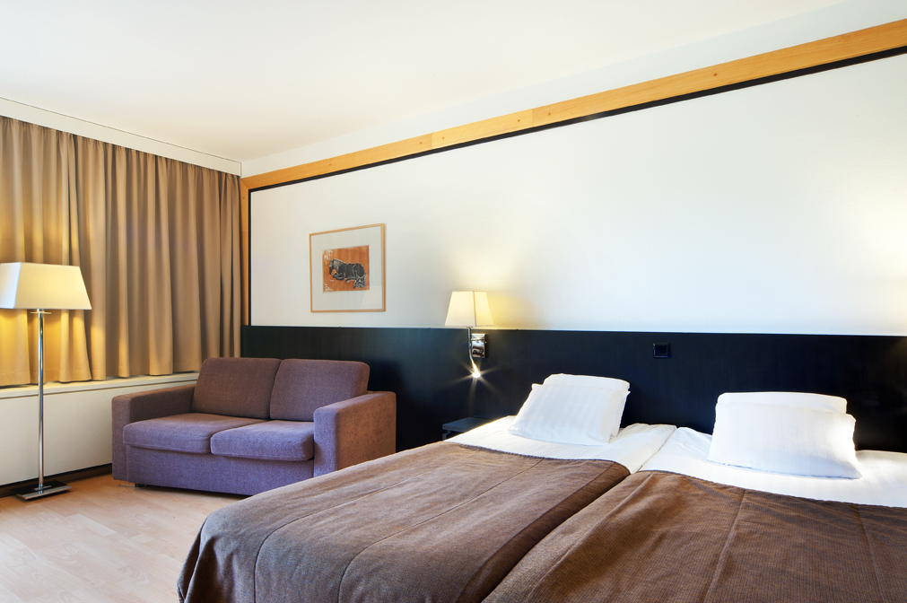 Hotel Korpilampi Espoo Comfort twin room - family room for 2 adults and 2 children