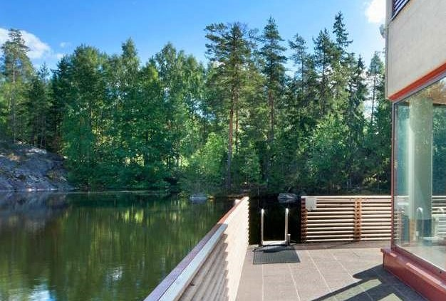 Hotelli Korpilampi sauna tilaussauna avanto
