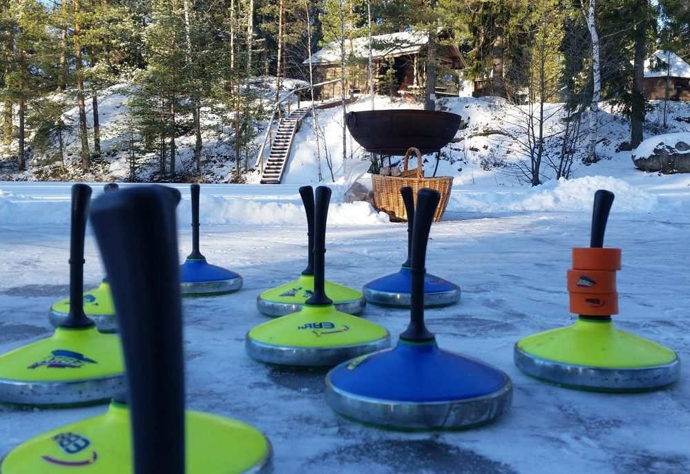 Hotel Korpilampi Espoo meetings events incentives Ice Curling