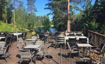 Hotelli Korpilampi Espoo kesäterassi ravintola