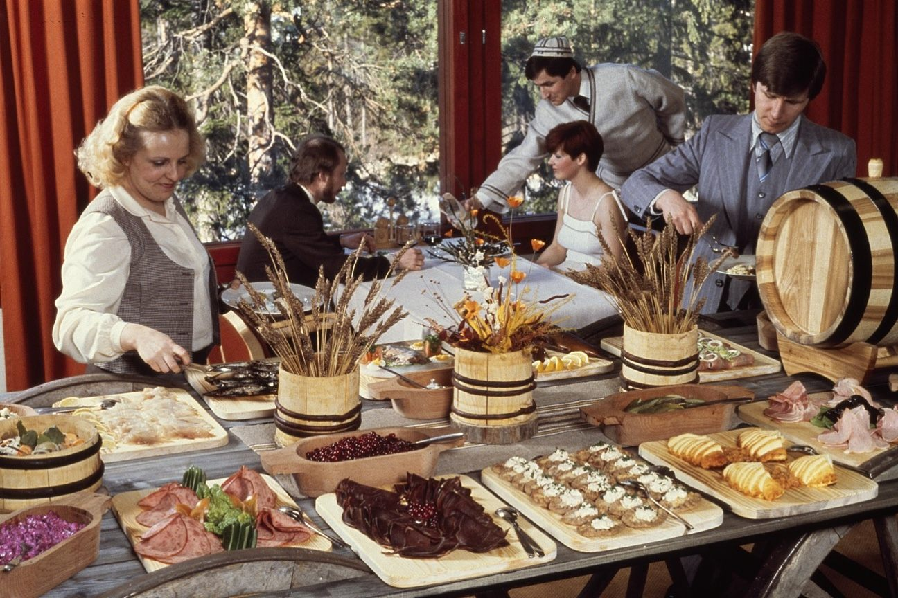 Hotelli Korpilampi Espoo ravintola historia 1