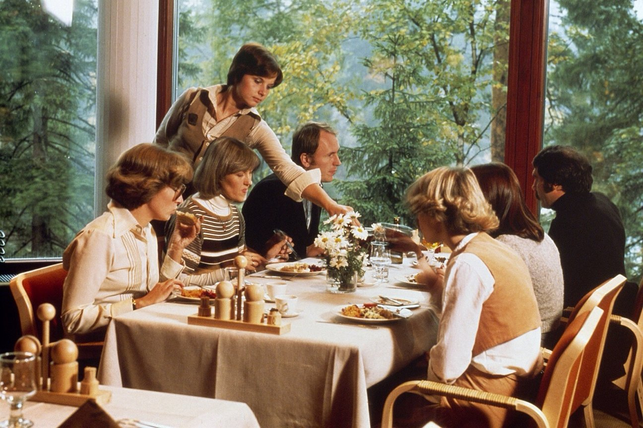 Hotelli Korpilampi Espoo ravintola historia 2