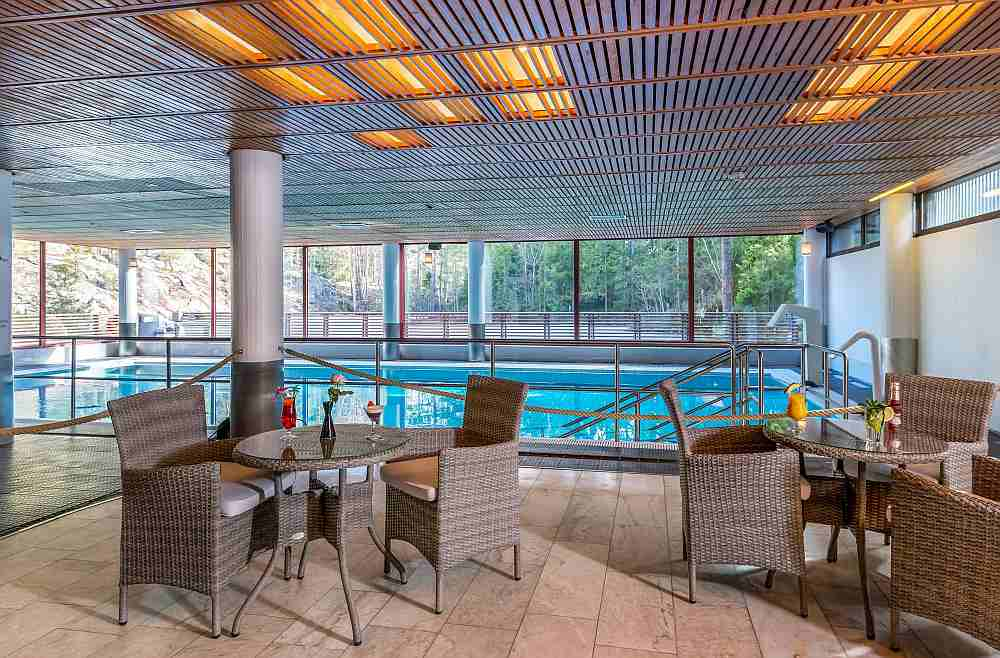 Hotelli Korpilampi sauna ja uima-allas