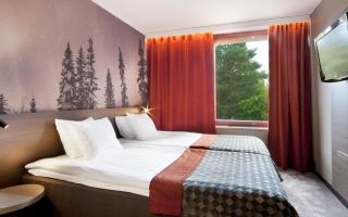 Hotelli Korpilampi Espoo hotellihuone työmatka majoitus