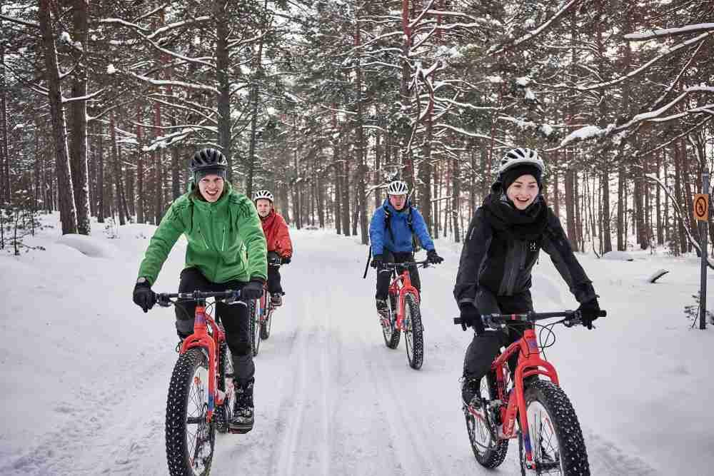 Hotelli Korpilampi Espoo Fatbike talvi 2