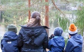 Hotelli Korpilampi Espoo outdoor family perhe loma