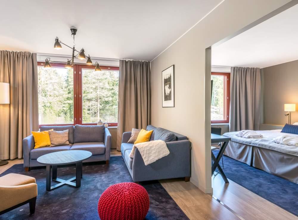 Hotel Korpilampi kesäloma Espoo vesipuisto serena tarjous